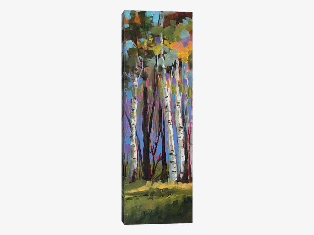 Birch Trees by Jane Slivka 1-piece Art Print