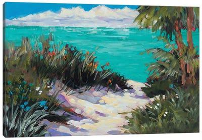 Tarpon Beach Canvas Art Print