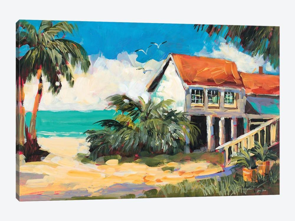 Tropical Getaway by Jane Slivka 1-piece Canvas Print