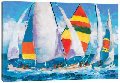Wide Sails Canvas Art Print