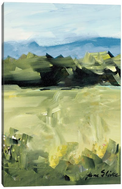 Abstract Scenery Canvas Art Print