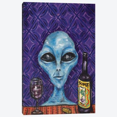 Alien Wine Canvas Print #JSM1} by Jay Schmetz Art Print