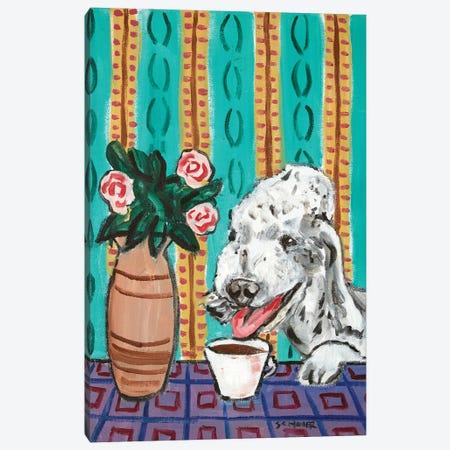 Dandie Dinmont Coffee Canvas Print #JSM26} by Jay Schmetz Art Print