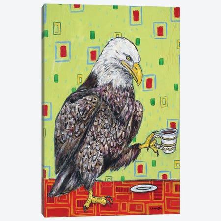 Eagle Coffee Canvas Print #JSM27} by Jay Schmetz Canvas Print