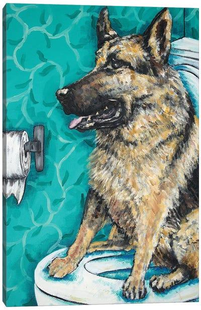 German Shepherd #2 Canvas Art Print