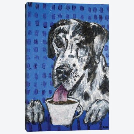 Great Dane Coffee 3-Piece Canvas #JSM35} by Jay Schmetz Canvas Wall Art