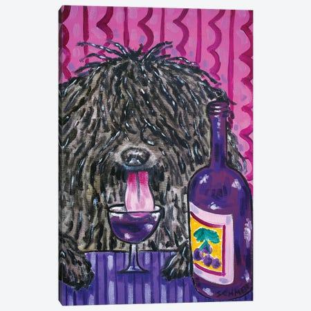 Puli Wine Canvas Print #JSM56} by Jay Schmetz Canvas Artwork