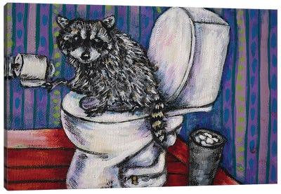 Raccoon #2 Canvas Art Print