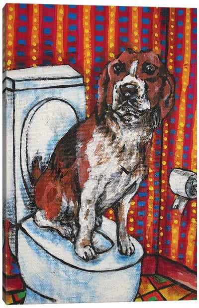 Beagle #2 Canvas Art Print