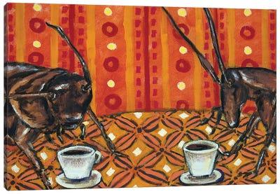 Roaches Coffee Canvas Art Print