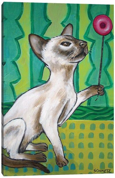 Siamese Yoyo Canvas Art Print