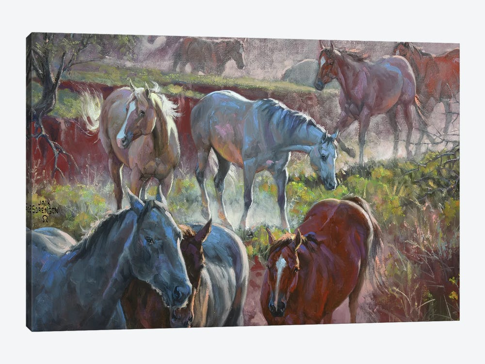 Greener Pastures 1-piece Canvas Artwork