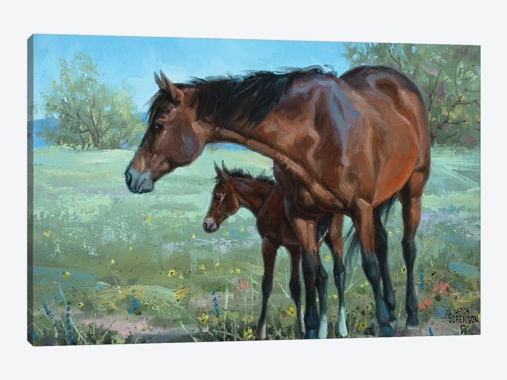 Watchful Eye by Jack Sorenson 1-piece Canvas Wall Art