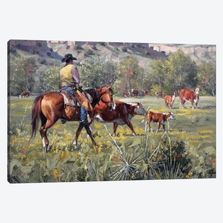 A Darn Good Spring Canvas Print #JSO1} by Jack Sorenson Canvas Print