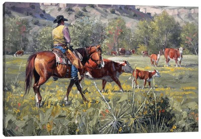 A Darn Good Spring Canvas Art Print