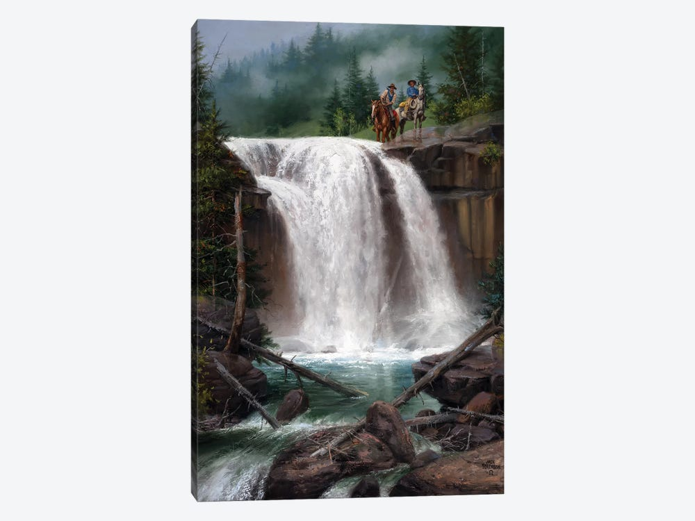Above the Falls by Jack Sorenson 1-piece Canvas Print