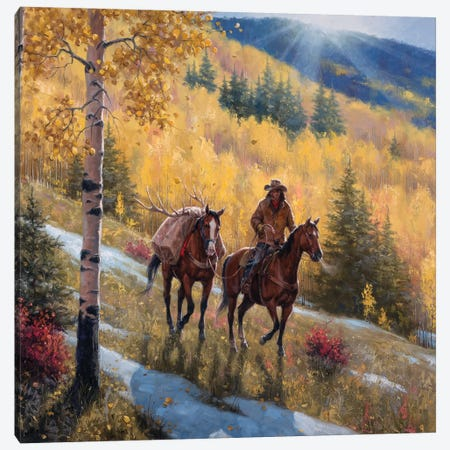 Glow of Indian Summer Canvas Print #JSO24} by Jack Sorenson Art Print
