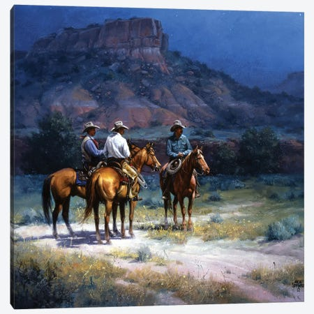 Moonshine Canvas Print #JSO25} by Jack Sorenson Canvas Art Print
