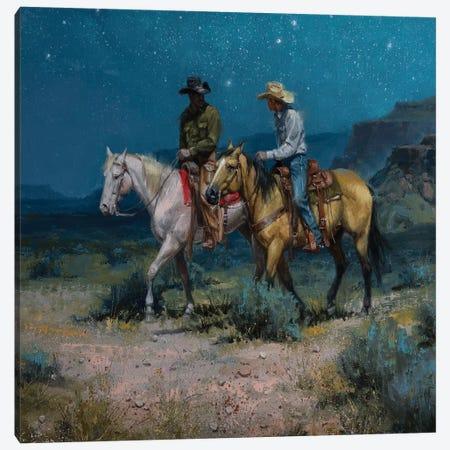 Night Riders Canvas Print #JSO26} by Jack Sorenson Canvas Art Print