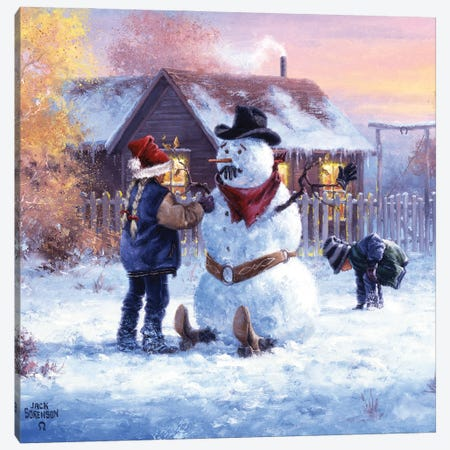 Gonna Be in Trouble Canvas Print #JSO36} by Jack Sorenson Canvas Artwork