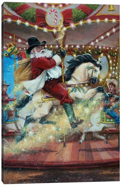 Merry Go Round Canvas Art Print