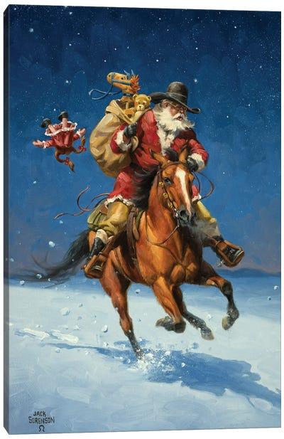 Midnight Rider Canvas Art Print
