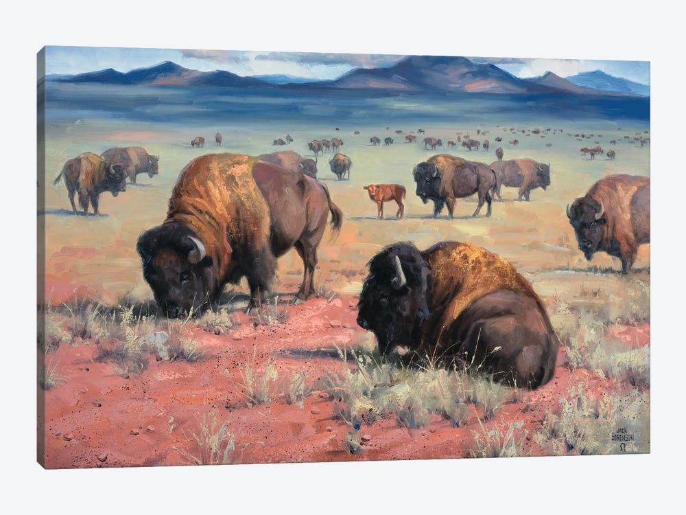 Home On The Range by Jack Sorenson 1-piece Art Print