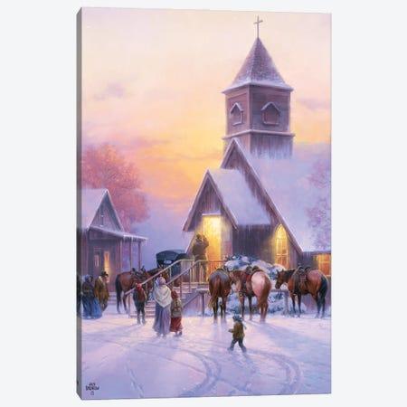 Sunday Service Canvas Print #JSO46} by Jack Sorenson Canvas Art Print