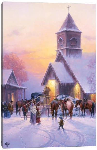 Sunday Service Canvas Art Print