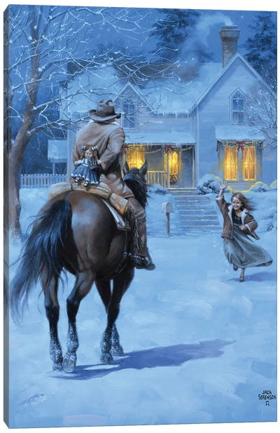 The Homecoming Canvas Art Print