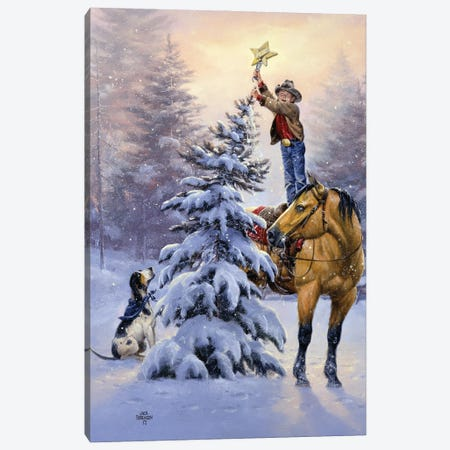 Upon the Highest Bough Canvas Print #JSO50} by Jack Sorenson Canvas Print