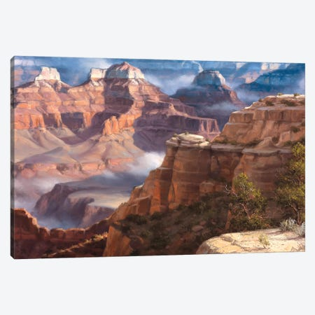 Rock Of Ages Canvas Print #JSO5} by Jack Sorenson Canvas Artwork
