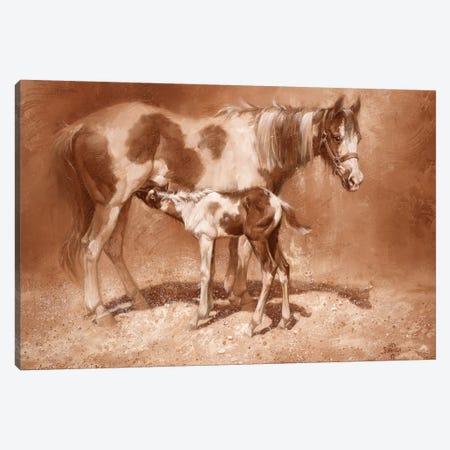 Sienna Paint Canvas Print #JSO6} by Jack Sorenson Canvas Art