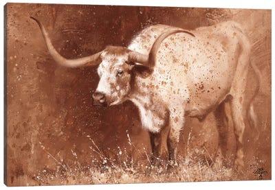 Sienna Speculation Canvas Art Print