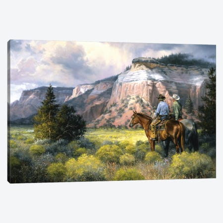 Spellbound Canvas Print #JSO8} by Jack Sorenson Art Print