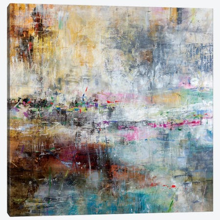 Summer Rain Canvas Print #JSR102} by Julian Spencer Canvas Art
