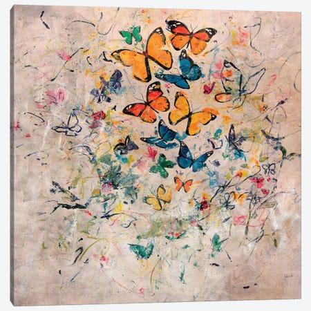 Butterfly Party Canvas Print #JSR119} by Julian Spencer Canvas Art Print