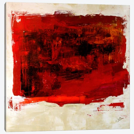 Red Study 3-Piece Canvas #JSR11} by Julian Spencer Canvas Wall Art