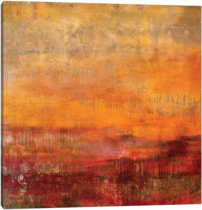 Heading West Canvas Art Print