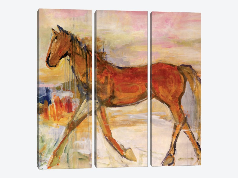 On The Go by Julian Spencer 3-piece Canvas Artwork
