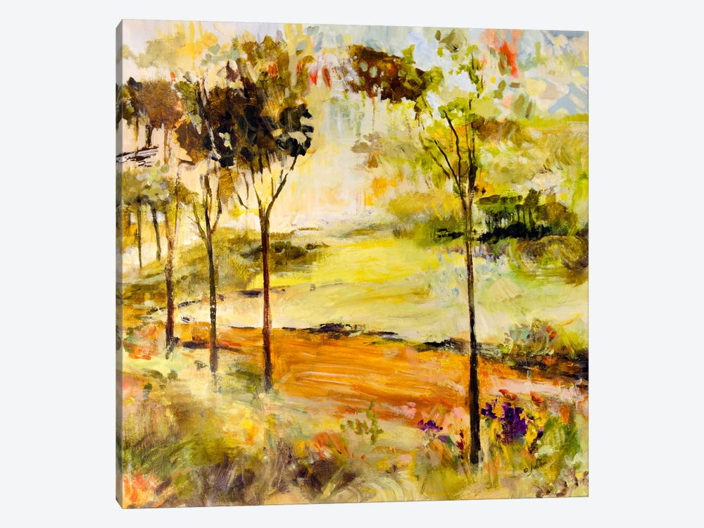 Scenic Path by Julian Spencer 1-piece Canvas Artwork