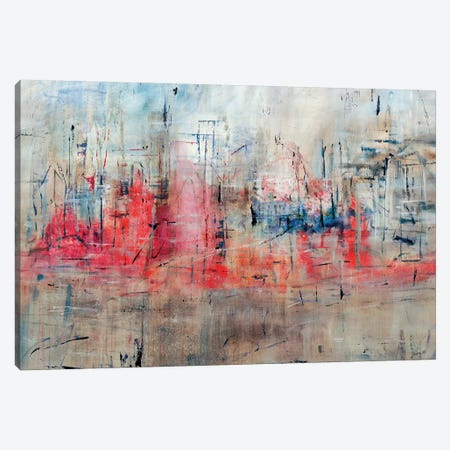 The City Calls Canvas Print #JSR139} by Julian Spencer Art Print