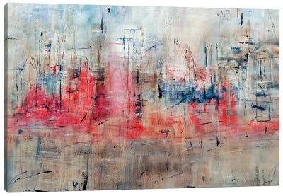 The City Calls Canvas Art Print