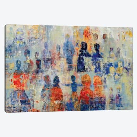 Community Canvas Print #JSR144} by Julian Spencer Art Print