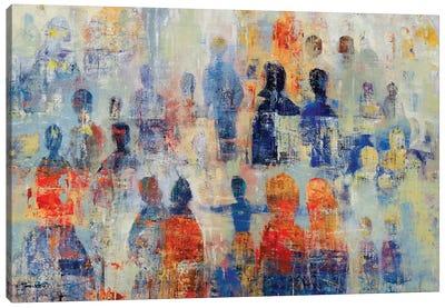 Community Canvas Art Print