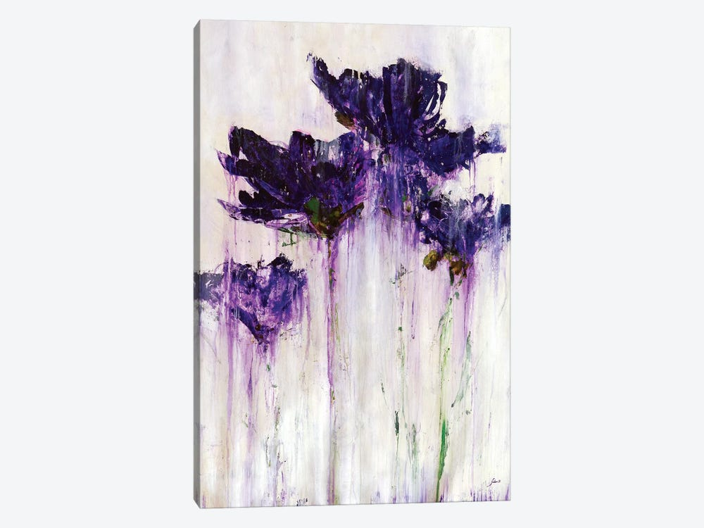 Floral Fountain by Julian Spencer 1-piece Canvas Art Print