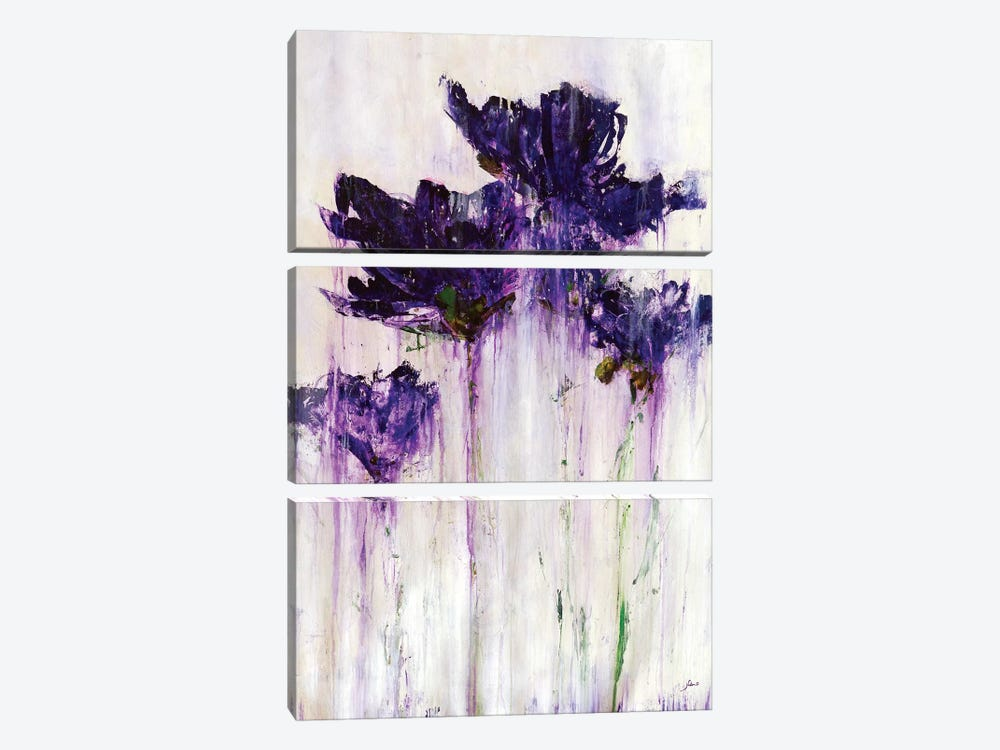 Floral Fountain by Julian Spencer 3-piece Art Print