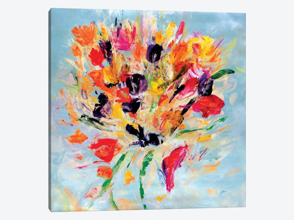 Kiss Me Floral by Julian Spencer 1-piece Canvas Art