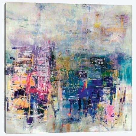 Pink Condo Canvas Print #JSR151} by Julian Spencer Art Print