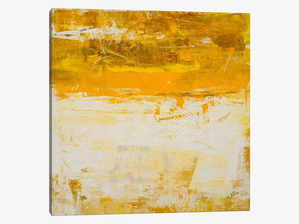 Yellow Field by Julian Spencer 1-piece Canvas Wall Art